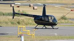 G-EEZR (goweravig) Tags: geezr swanseaairport swansea wales uk aircraft helicopter r44 raven ravenii robinson visiting