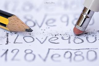 The problems of love are erased // Los problemas del amor son borrados