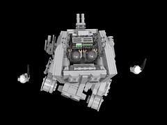 AT-ST walker inside (demitriusgaouette9991) Tags: lego military army ldd armored at walker vehicle imperial powerful