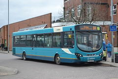 Arriva North West 3161 MX14HRP (Will Swain) Tags: nantwich bus station 31st march 2018 cheshire north west south county buses transport travel uk britain vehicle vehicles country england english arriva 3161 mx14hrp route 84 crewe