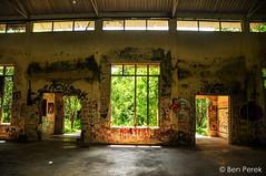 Rishikesh, India (Ben Perek Photography) Tags: india rishikesh ganga river ganges yoga capitol asia holy hindu hinduism piligrimage ashram beatles jai guru abandon place places jungle trees forrest amazing street art streetart graffiti paintings wall