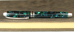 Giollo De Poseidon Fountain Pen - Bock Titanium Nib (BenjaminCookDesigns) Tags: fountainpen custom bespoke engraved personalised classic vintage artdeco style gift birthday christmas fpgeeks fpn giftforhim giftforher füllfederhalter