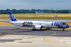 All Nippon Airways (ab-planepictures) Tags: eddl dus all nippon airways dreamliner boeing 787 star wars r2d2 flugzeug flughafen airport aircraft plane planespotting aviation