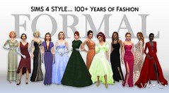 SIMS 4 100+ Years of Fashion (Willyssa) Tags: sims4 fashion century 100 1910 1920 1930 1940 1950 1960 1970 1980 1990 2000 2010 2018 colour colorwheel