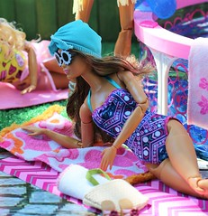 MTM Skateboarder (Annette29aag) Tags: barbie doll fashionista pool poolparty model madetomove photography portrait