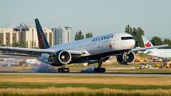 C-FNNQ - Air Canada - Boeing 777-333(ER) (bcavpics) Tags: cfnnq aircanada ac boeing 777 773er aviation aircraft airliner airplane plane cyvr yvr vancouver britishcolumbia canada bcpics
