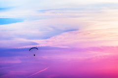 fly in colors (ErrorByPixel) Tags: k5 skyscape gliding glider hang hangglider pentax color colour colours colors clouds sky bogatynia poland lower silesia cloud