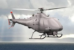 Military Drone: Augusta Westland SW-4 Unmanned Helicopter Proposal (dronesrate) Tags: drones design