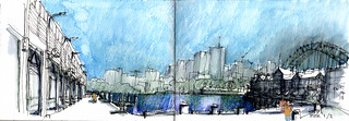 Walsh Bay, Millers Point, pier1, and wharf 2/3
