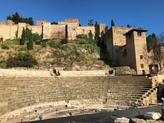 Alcazaba & Roman Theatre (Marc Sayce) Tags: roman theatre fort palace citadel alcazaba málaga andalucía andalusia spain may 2018 notrealtags bikini speedo topless naked nude milf