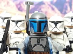 Attack of the Clones (eddiemck123) Tags: lego moc minifigure toy starwars attackoftheclones clone clonetrooper clonewars jangofett