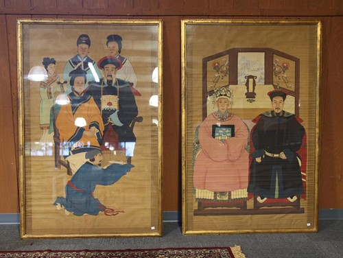 Framed Oriental Family Textured Portraits ($448.00)