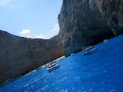 IMG_0896 (SyrianSindibad) Tags: greece zakynthos navagiobeach shipwreckbeach smugglerscove