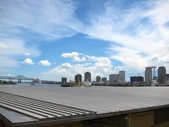 New Orleans downtown (pr0digie) Tags: neworleans downtown city cityscape mississippi river bridge
