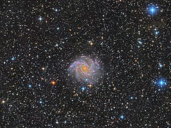 The Fireworks Galaxy (Deeper Version) (Photonen-Sammler) Tags: fireworks galaxy ngc 6946 astrophotography astronomy