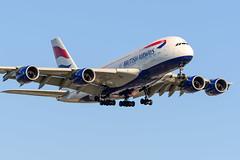 CYVR - British Airways A380-800 G-XLEK (CKwok Photography) Tags: yvr cyvr britishairways a380 gxlek