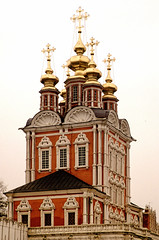 Cathedral Novodevichy Convent (wamwaldi) Tags: church kirche kathedrale cathedral russia gold