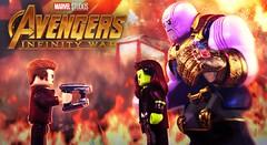 LEGO Avengers: Infinity War - Let Her Go Grimace (MGF Customs/Reviews) Tags: minifigure figure custom zoesaldana joshbrolin chrispratt gamora starlord gauntlet thanos war infinity avengers lego