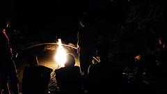 An uan (Jstiw) Tags: fuego fire candela rio agua cañanas river water light