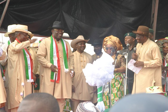 HSDickson-Declaration for Governorship. 2nd February, 2012