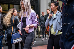 San Francisco 2018 (burnt dirt) Tags: sanfrancisco california vacation town city street road sidewalk crossing streetcar cablecar tree building store restaurant people person girl woman man couple group lovers friends family holdinghands candid documentary streetphotography turnaround portrait fujifilm xt1 color laugh smile young old asian latina white european europe korean chinese thai dress skirt denim shorts boots heels leather tights leggings yogapants shorthair longhair cellphone glasses sunglasses blonde brunette redhead tattoo pretty beautiful selfie fashion japanese purple yellow bag blue