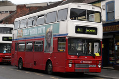 15989 POG 602Y (Cumberland Patriot) Tags: stagecoach yorkshire traction metro metroplitan cammell weyman mcw metrobus 2602 pog602y wm west midlands travel 721 15989 integral step entrance bus doncaster south