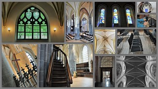 Interieur collage Martinikerk