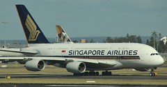 9V-SKU | Singapore Airlines | SQ232 | SYD - SIN | Airbus A380-841 | Sydney Kingsford Smith Airport | (SYD/YSSY) (bukk05) Tags: sydneykingsfordsmithairport 9vsku singapore singaporeairlines sq232 syd sin sydney sydyssy yssy airbusa380 airbusa380841 a380 wing explore export engine runway tamron tamron16300 travel tourist tourism thrust turbofan taxi takeoff international photograph photo passenger plane planet aeroplane jet jetliner holiday flickr flight fly flying sky australia air airport aircraft airliner aviation airportgraphy airline canon60d canon nsw newsouthwales mascot autumn 2018 krisflyer staralliance agreatwaytofly rollsroyce rollsroycetrent900 enginealliancegp7000 enginealliance