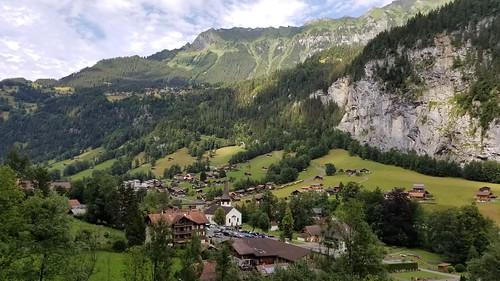 Staubbachfall, Lauterbrunnen, Switzerland