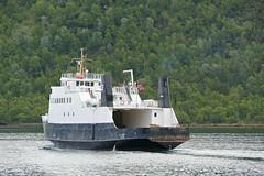 """""""Helgøy"""" (K Horsevik) Tags: helgøy thn senjafergene senja ferge ferje ferry bilferge"""
