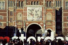 I Amsterdam (Pakinho10) Tags: amsterdam holanda netherlands nederland rijksmuseum iamsterdam monument museum museo edificio building