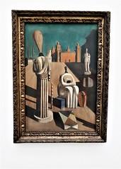 de Chirico at the Pinakothek (SM Tham) Tags: europe germany munich pinakothekdermoderne art artgallery museum dechirico painting frame surrealism