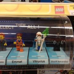 The LEGO Movie mini figures (splinky9000) Tags: kingston ontario wal mart