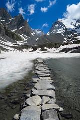 Pralognan La Vanoise, French Alps (Dominique ALLAIN) Tags: france frenchalps pralognanlavanoise lacdesvaches lake montagne mountain
