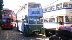 June 2018 - East Anglia Transport Museum. (RTW501) Tags: cul260 aec c2 mccwbody hastingstramways sunbeamchassis weymannbody 795flk fordson supermajor tractor sheffield513