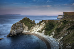 man o war cove dorset uk (kapper22) Tags: cove dorset cliff beach blue green cliffs