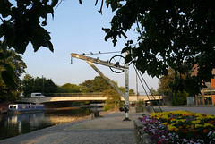 The Old Crane... (ian con) Tags: canals water