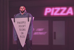 It's true, fight me. - Epiphany WIP (Bhad Craven 'Bad Unicorn') Tags: pizza sign pink neon pizzas pinapple doesnt belong pinapples dont epiphanysl sl second life bad unicorn badunicorn