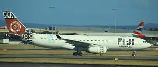 DQ-FJT | Fiji Airways | FJ911 | NAN - SYD | Airbus A330-243 | Sydney Kingsford Smith Airport | (SYD/YSSY)