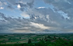 Big sky (momentcollection) Tags: monferrato piemonte panorama summerstorm