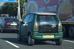 2004 TH!NK PIV4 (NielsdeWit) Tags: nielsdewit car vehicle rf892r thnk think city piv 4 piv4 elec driving a12 highway favourite élec