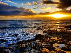 Winter Rise (Aaron_A.K.A_Aaron) Tags: winter sunrise coast coastal wales landscape sun clouds sea ocean beautiful stunning waves