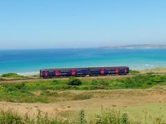 150219 Porthkidney Sands (7) (Marky7890) Tags: gwr 150219 class150 sprinter 2a31 porthkidneysands railway cornwall stivesbayline train