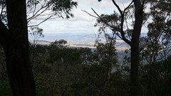 View across the Megalong Valley (spelio) Tags: mt victoria nsw blue mountains australia winter bushwalk hike