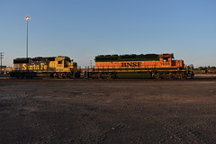 Resting Away (Robby Gragg) Tags: bnsf sd402 1986 superior