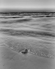 RutySoft, Fine Art Photography. Marcela Ruty Romero. Black and White Photography. Seascape  #rutysoft #blackandwhite #fineartphotography #livephotography #nature #seascape (RutySoft Gallery) Tags: instagramapp square squareformat iphoneography uploaded:by=instagram