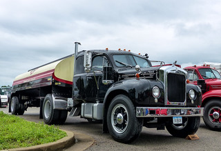1959 Mack B-61 Tractor and Fuel Trailer