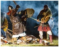 VIKINGS (regis.muno) Tags: nikond500 spectacle show nuit fete feu feuxdelastjean shirrhein alsace grandest vikings france