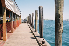 (Doug J.) Tags: canon eos rebel g rebelg 500n film 35mm 40mm f28 agfaphoto agfa vista 200 marthas vineyard ocean sea water dock boats chappaquiddick