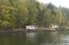 Random waterside houses, Stockholm